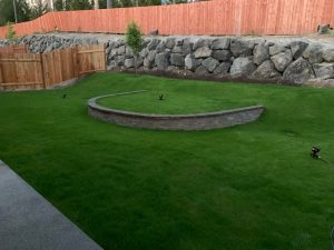 Hardscaping Completed Project